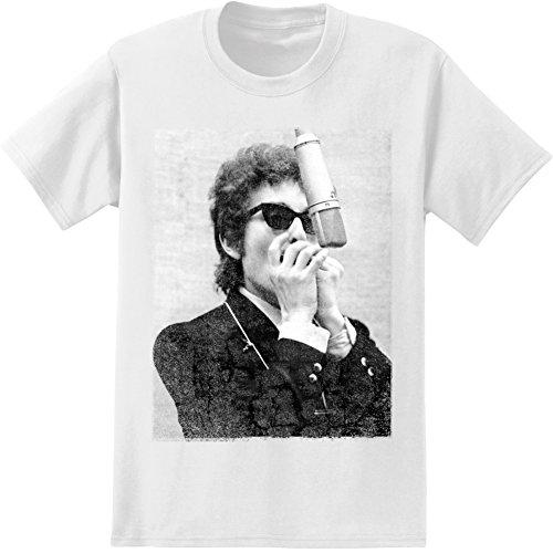 Bob Dylan - Harmonica T-Shirt Size M