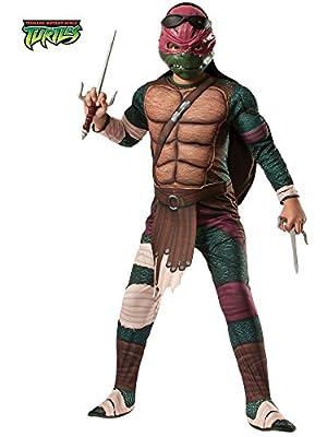 Rubies Teenage Mutant Ninja Turtles Deluxe Muscle-Chest Raphael Costume