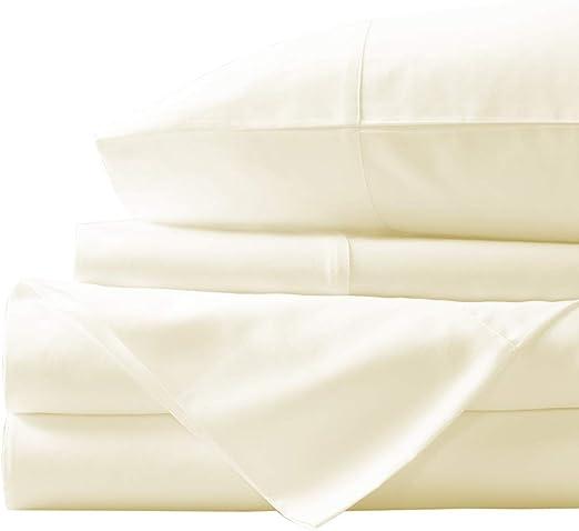 Extra Deep Pocket 4 PCs Sheet Set 1000 TC Egyptian Cotton All Color US King Size