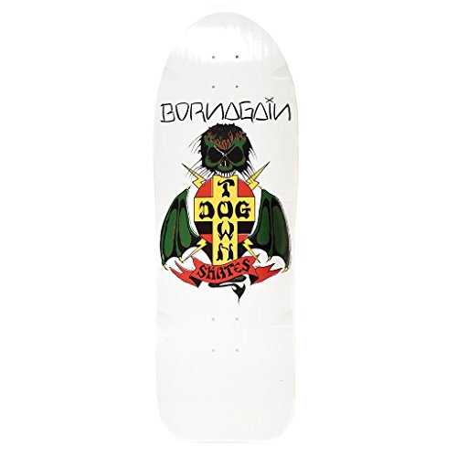 Dogtown Skateboard Deck Re-Issue Born Again Re-Issue White 10