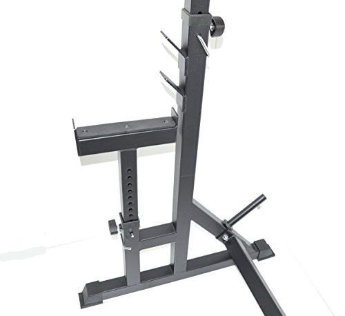 Power Rack Bench Press Safety: Squat Rack W/ Bench Safety Stands H.D. Adjustable Power