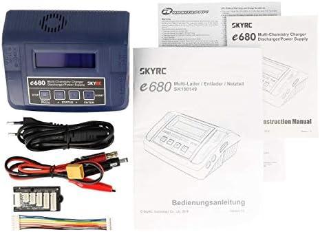 Skyrc E680 Modellbau Multifunktionsladegerät 8 A Lipo Lifepo Liion Lihv Nimh Nicd Blei