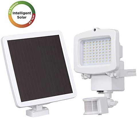 Westinghouse Solar Lights Outdoor 2000 Lumens Solar Motion Sensor Lights with 130 Wide Angle Security Flood Light Easy-to-Install Weather Resistant LED Solar Light Lighting for Front Door,Garage,Yard