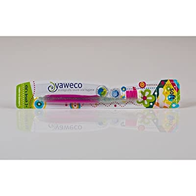 Yaweco Eco Childrens Toothbrush 3yrs+ Soft Biobased