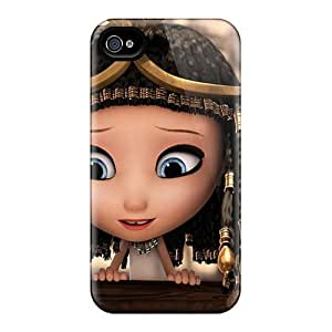 Shock Absorbent Hard Phone Covers For Iphone 4/4s (ccy8140UkDb) Allow Personal Design Realistic Mr Peabody Sherman Skin