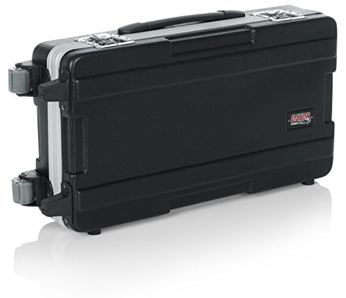Gator Cases ATA Molded Mixer Case with Wheels and Tow Handle; 12 x 24 Inches (G-MIX 12X24)