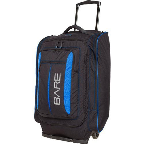 Bare Large Wheeled Luggage Bag by Bare