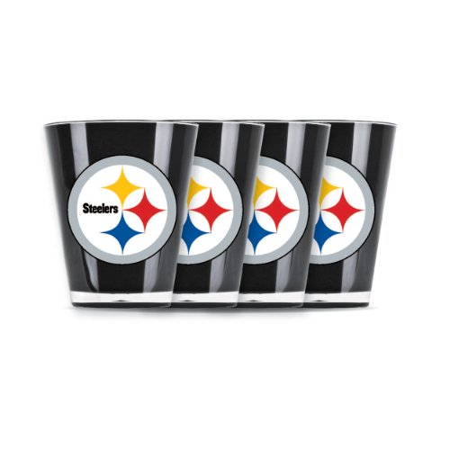 Pittsburgh Steelers Candy (NFL Pittsburgh Steelers Shot Glass Set (4-Piece))