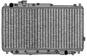 CSF 2927 Radiator by CSF