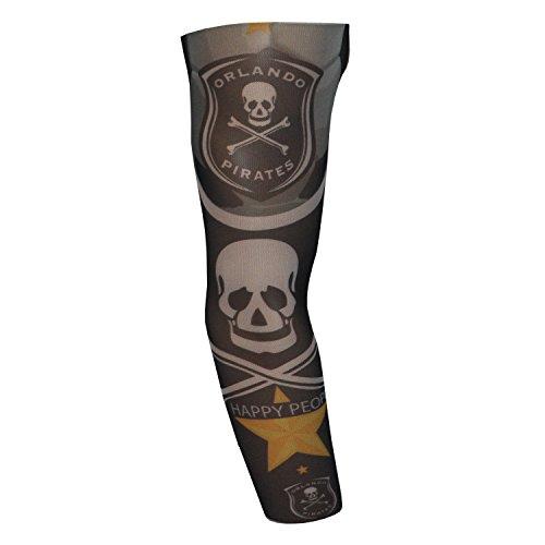 Devils Needle Fake Tattoo Arm Sleeve Orlando Pirates (T38)