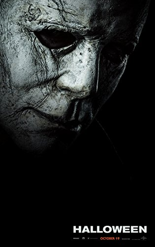 HALLOWEEN (2018) Original Authentic Movie Poster - 27x40 - Double-Sided - Jamie Lee Curtis - Judy Greer]()