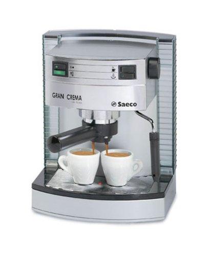 Saeco gran crema Deluxe - Cafetera espresso, color plateado ...