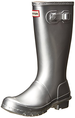 Hunter Kids Original Kids Metal Silver Rain Boot