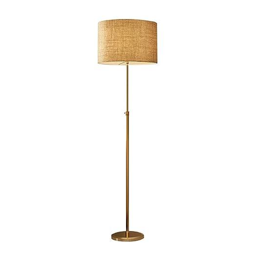 VOVOVO Lámpara de pie para salón. Lámpara de pie con Pantalla ...