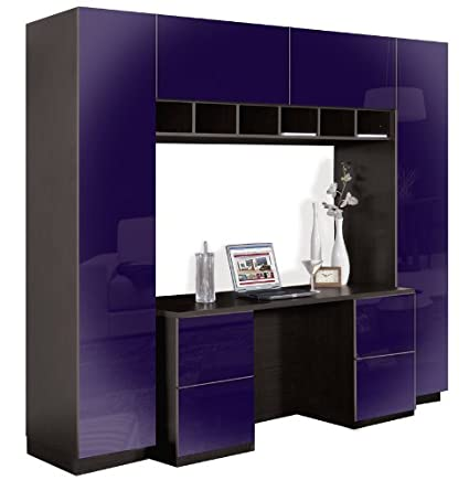 Pleasant Amazon Com Davidson Wall Unit Desk Wall Units Kitchen Home Interior And Landscaping Spoatsignezvosmurscom