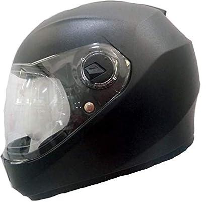 29f24f14 Steelbird SBH-11 Dashing Black with plain visor,580 mm: Amazon.in: Car &  Motorbike