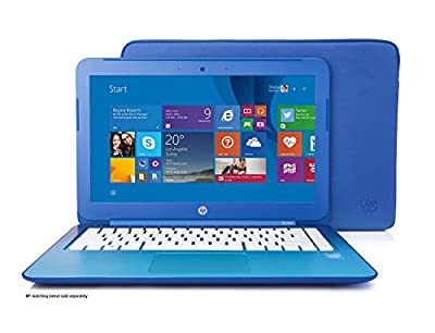 HP Stream 11.6 inch Laptop, Intel N2840 2.16GHz Dual-Core, 2GB DDR3L, 32GB Solid State Drive, Windows 8.1, Blue (Certified Refurbished)