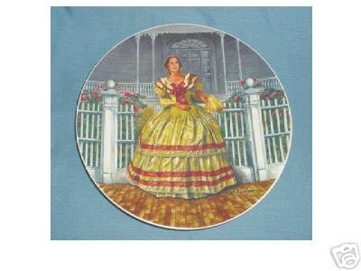 Gone With The Wind Melanie Collector Plate (Gone With The Wind Collector Plates Knowles)