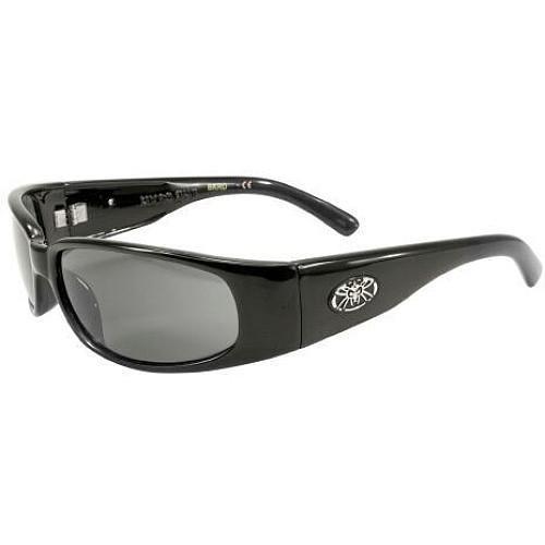 BLACKFLYS Micro Fly II Sunglasses Shiny Black/Smoke Lens