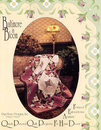 Baltimore Quilt Design - Baltimore in Bloom: Quick Pieced Quilt Projects for Home Decor