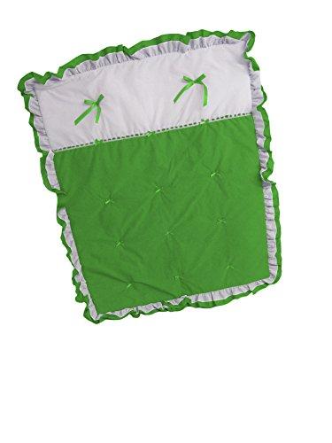 Baby Doll Bedding Regal Crib Comforter, Green Apple