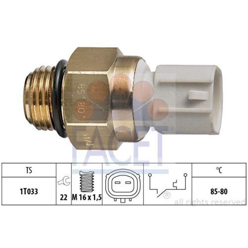 Facet 7.5173 Interruptor de temperatura, ventilador del radiador