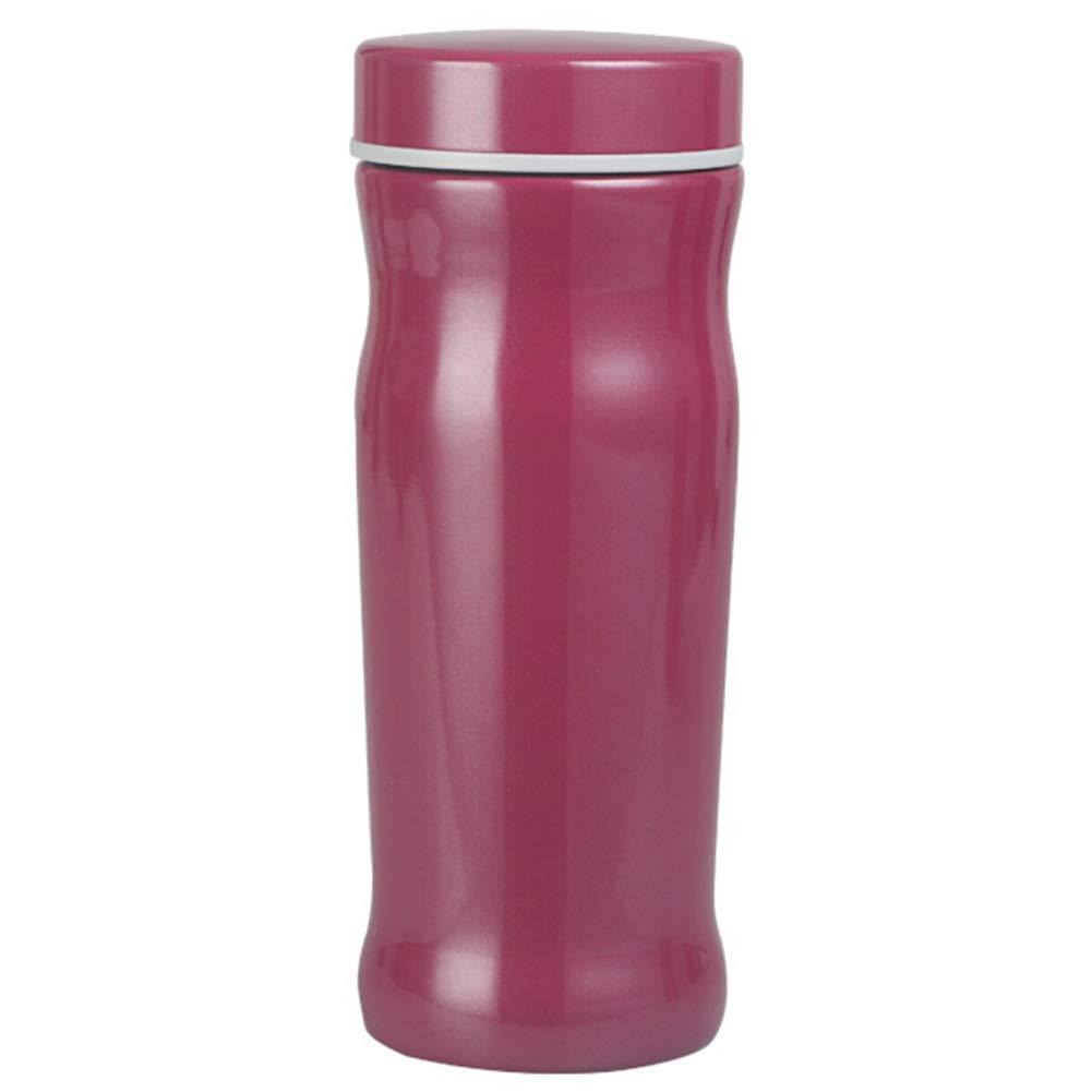 Sportflasche Isolier Becher Thermo Becher Travel Mug Kaffeebecher Wasserflasche Trinkbehälter Trinkflaschen-Tragbarer Außenwasserbecher Aus Edelstahl Mit Vakuum FENPING