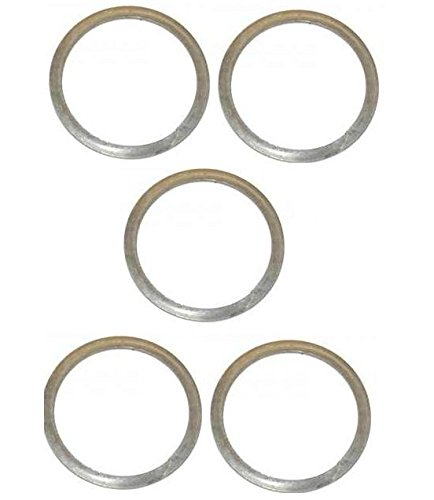 Ultimate Arms Gear Model 4/15 .223 5.56 7.62X39 300 AAC Blackout Rifle 5 Pack of 0.32mm Stainless Steel Free Float Freefloat Barrel Nut Ring Shims Washer (Barrel Nut Ar)