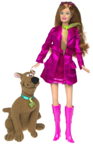 Barbie as Daphne from Scooby Doo Barbie -