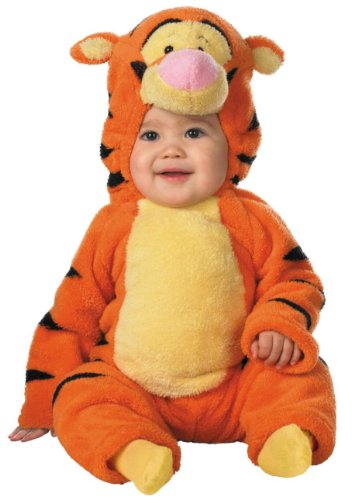 The Winnie Baby Monitor Pooh (Deluxe Tigger Toddler Costume - Baby 12-18)