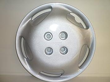 Juego de Tapacubos 4 Tapacubos Diseño Elx Fiat Punto r 14: Amazon.es: Coche y moto