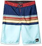 Quiksilver Boys' Big' Everyday SWELL Vision Youth 18 Boardshort Swim Trunk Blue Night 29