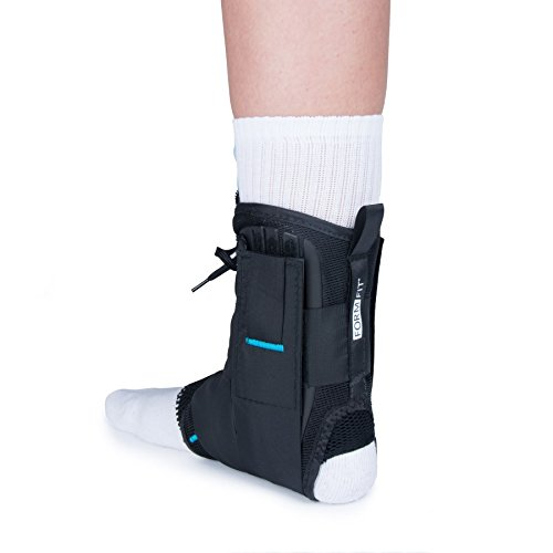 Ossur Form Fit Ankle Brace - Small with Figure 8 Straps