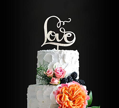 Gorgeous LOVE Cake Topper occasion