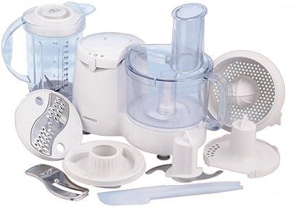 Kenwood Compact Food Processor FP180, Plástico, Blanco, 160 x 370 ...