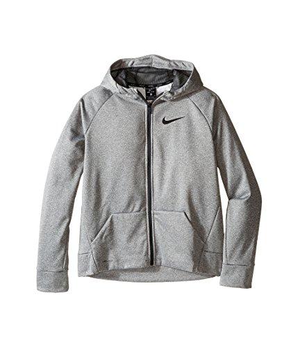 Nike Therma Boy's Training Hoodie (X-Large, Dark Grey Heather)