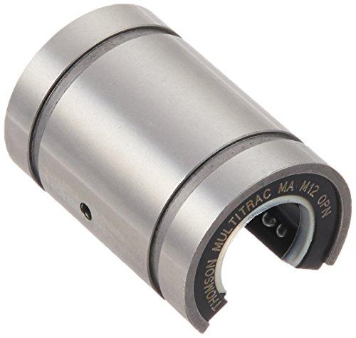 Thomson MAM12OPN MultiTrac Bushed Linear Ball Bearing 12mm Bore Open Diameter