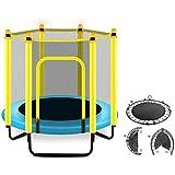 Cama elástica niños Infantil Trampolín Trampolines Trampolín Redondo con el recinto Interior Net-O trampolín al Aire Libre for los niños, el hogar/Oficina Cardio Trainer Trampolines de Interior Tram