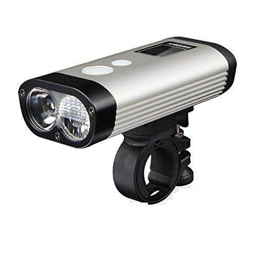 Ravemen PR900 900 Lumen 2x LED Road Commuting Bike Light USB Rechargeable w Remote