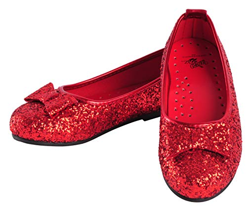 Dorothy Wizard Of Oz Costume Shoes - Wizard of Dorothy Deluxe Ruby Red