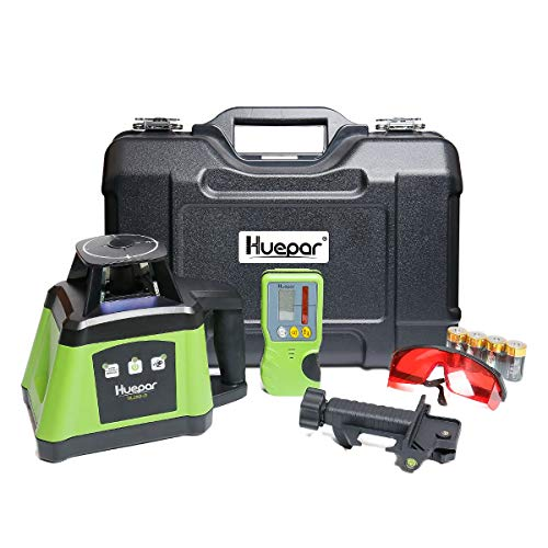 Huepar Electronic Self-Leveling Rotary Laser Level Kit