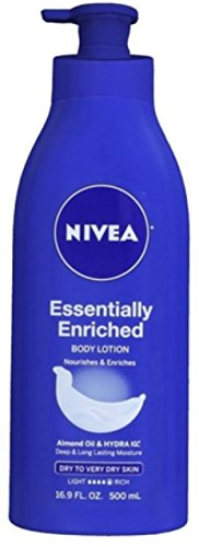 Price comparison product image NIVEA Essentially Enriched Body Lotion 16.9 oz (Pack of 9)