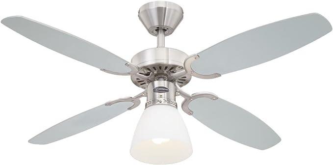 Westinghouse Lighting Capitol Ventilador de Techo E27, 60 W ...