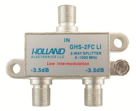 HIGH SHIELD SPLITTER COMBINER 2-WAY HIGH FREQ 5-1000 MHZ
