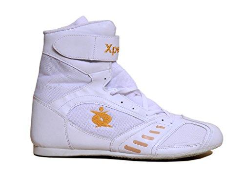Xpeed Hombres del boxeo zapatos sintética/malla 9blanco