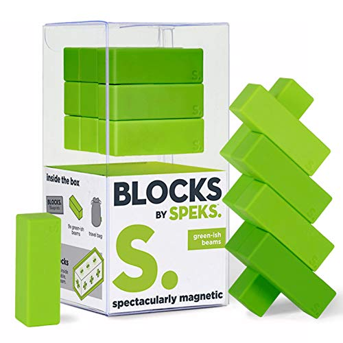 Speks Blocks Beams. Magnetic Blocks for Adults. The Worlds Best Desk Toys.