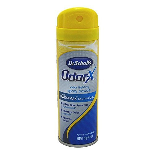Dr. Scholl's Odor Destroyer Deodorant Spray 4.7 oz. - 2 Pack
