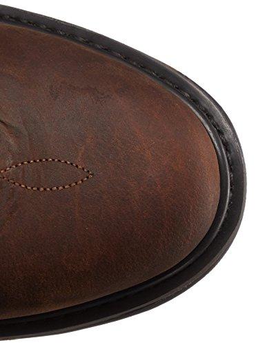 John Deere Mens 11-Inch NST PO Work Boot Tan Black sjxe8t