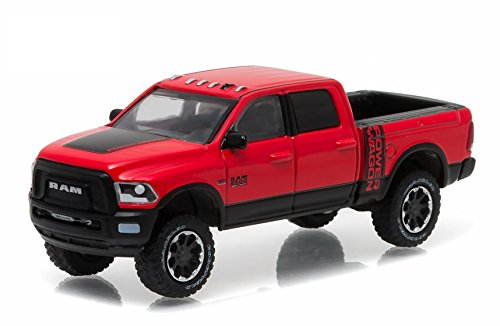 GreenLight 2017 Ram 2500 Power Wagon, Flame - Truck Car Flames