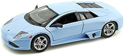 MAISTO  SPECIAL EDITION LAMBORGHINI MURCIELAGO LP640 LITE BLUE 1//24 DIECAST CAR